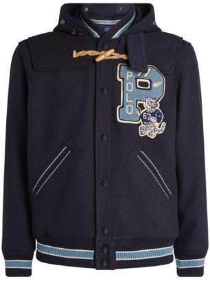 Ralph Lauren Wool Varsity Bomber Jacket