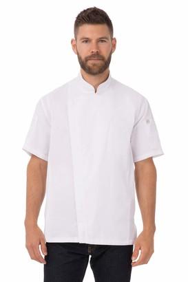 Chef Works Men's Springfield Chef Coat (BCSZ009)