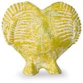 Ceramic vase, 'Elephant Fossil Heart'