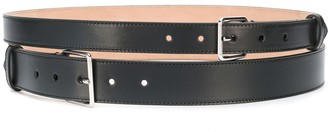 Alexander McQueen Double-Wrap Studded Belt