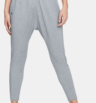 Under Armour Women's UA Modal Terry Tapered Slouch Pants