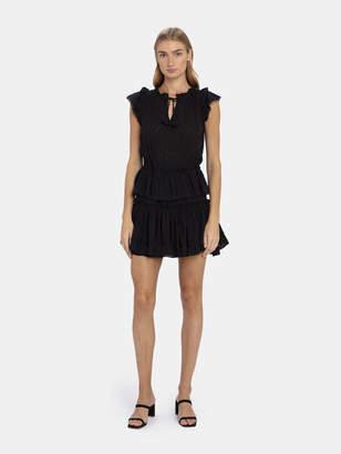 MISA Los Angeles Lillian Ruffle Mini Dress