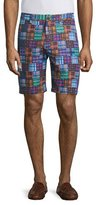 Robert Graham Flow Rider Patchwork-Print Shorts, Multi