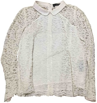 The Kooples Ecru Lace Top for Women