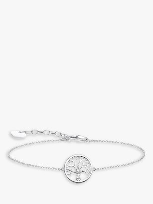 Thomas Sabo Glam & Soul Tree of Love Charm Bracelet, Silver