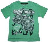 Monster Jam Grave Digger Boys Shirt 12M-5T (12M)