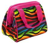 Fit & Fresh Riley Insulated Lunch Bag - Rainbow Zebra