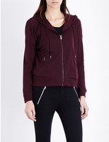 The Kooples Hooded knitted jacket