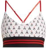 The Upside Zoe Witch Mountain-print performance bra