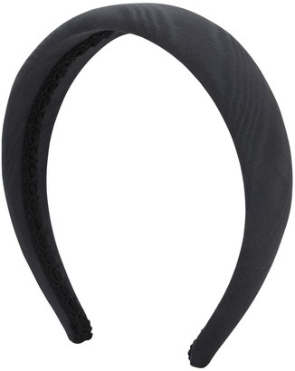 Ca&Lou Victoria Simple Black Moire Headband