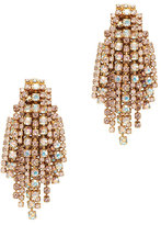 Elizabeth Cole Crystal Fringe Waterfall Earrings