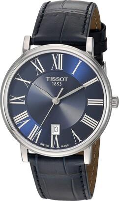 Tissot Unisex Carson Swiss Quartz Stainless Steel Dress Watch (Model: T1224101604300)