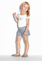 Milly Minis Chambray Pleated Short