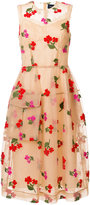 Simone Rocha embroidered floral dress