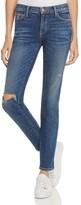 Current/Elliott The Stiletto Skinny Jeans in Wren Destroy