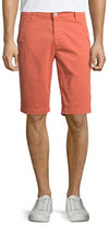 AG Jeans Griffin Tailored-Fit Shorts, Brick Dust