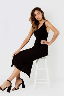 Micha Lounge Knitted cami dress black