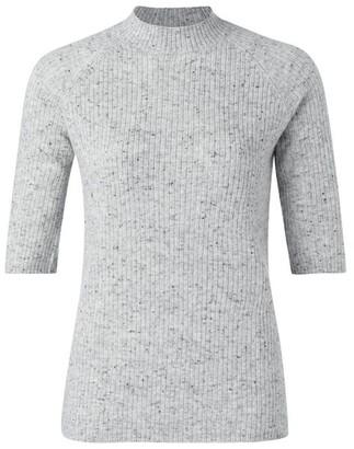 Ya-Ya Grey Short Sleeve Knit - X Small