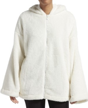 KENDALL + KYLIE Solid Zip Up Bed Jacket, Online Only