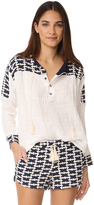 Liv Cook Island Peasant Blouse
