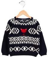 Lili Gaufrette Girls' Alpaca-Blend Sweater