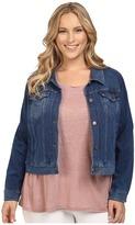 Lysse Plus Size Stretch Denim Jacket