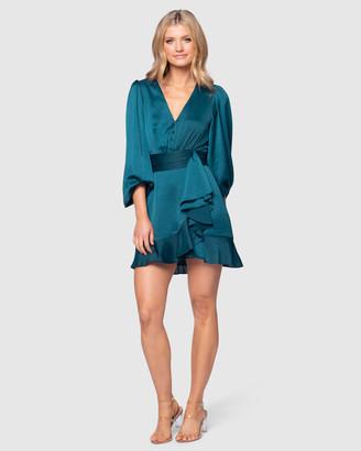 Pilgrim Women's Green Mini Dresses - Bailey Mini Dress - Size One Size, 8 at The Iconic