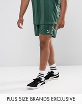 Puma Plus Retro Football Shorts In Green Exclusive To Asos 57658002
