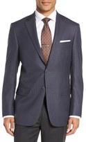 Hart Schaffner Marx Classic Fit Houndstooth Wool Sport Coat