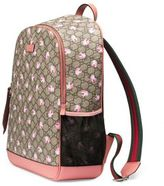 Gucci Mum GG Flowers Backpack Diaper Bag