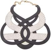 Bally Leather necklace