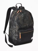 Old Navy Patterned Canvas Backpack for Boys