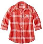 Mossimo Juniors Button Down Plaid Shirt - Assorted Colors