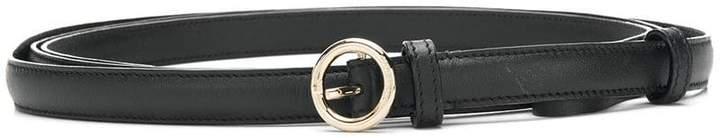 Nina Ricci slim circle buckle belt