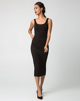 Le Château Ponte Scoop Neck Midi Dress