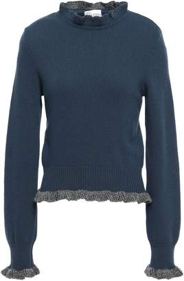 RED Valentino Ruffle-trimmed Wool Sweater