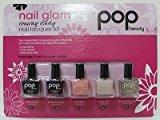 Pop Beauty Nail Glam Nail Lacquer 5 piece Kit