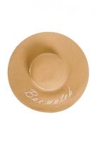 Quiz Tan Bae Watch Straw Hat