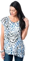 A Pea in the Pod Majestic Bias Cut Maternity Top