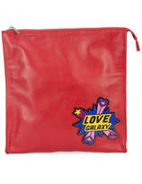 Yazbukey Love Galaxy Plexi Evening Bag - Red