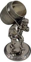 One Kings Lane Vintage Man & Barrel Silver Napkin Ring