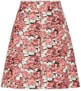 Sandro Floral Mini Skirt