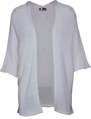 M Made in Italy Women's Lightweight Knit Cardigan