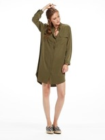 Scotch & Soda Tencel Shirt Dress