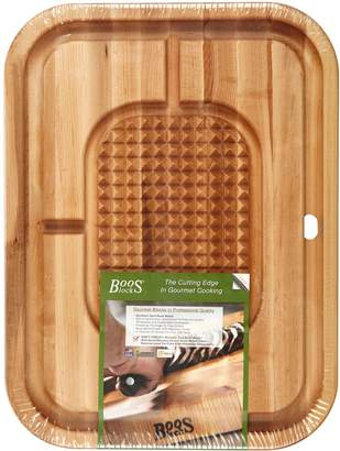 Jboos Maple Cutting Board with Pan and Grid