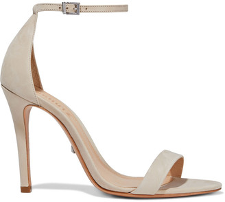 Schutz Enida Mirrored-leather Sandals