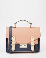Asos Color Blocked Satchel Bag