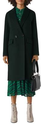 Whistles Double-Breasted Long Coat