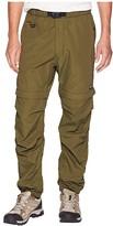 Snow Peak Camping Two-Way Field Pants (Olive) Men's Casual Pants