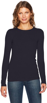 Majestic Filatures Women's Soft Touch Superwashed Crew Neck with Flat-Edge Trim